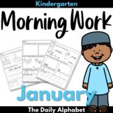 Kindergarten Morning Work January