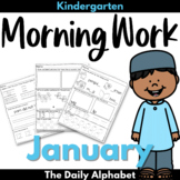Kindergarten Morning Work January