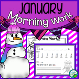 January Morning Work Quick Warm Ups