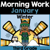 January Morning Work {3rd Grade}