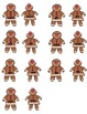Mr. & Mrs. Gingerbread Cookie Sight Word Set 2 Literacy Ce