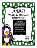 January Multiple Methods Addition Pack