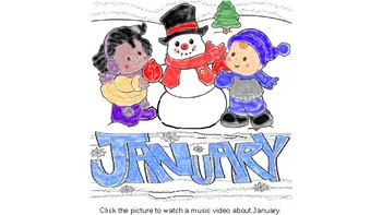 January Music Videos and Stories for Students with Special Needs