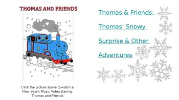 January Music Videos and Stories for your Elementary Classroom