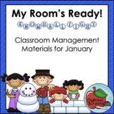 January   My Room's Ready!   Classroom Management Bundle