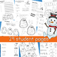 Winter Themed Skills Workbook | Kindergarten | 1st Grade | Perfect for January