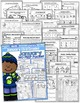 January NO PREP Math and Literacy (3rd Grade)