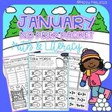 January NO PREP Packet