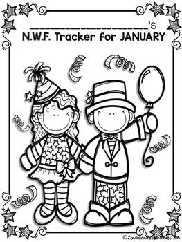 Nonsense Word Fluency January Assessment Pack by Ms. Lendahand