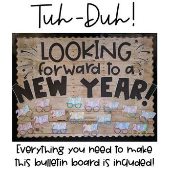 bullentin board ideas for january