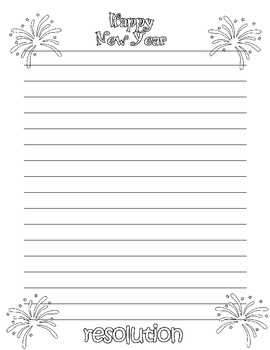 January (New Year/ MLK/ 100th Day) Writing Activities