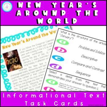 January New Year's: FSA/PARCC Passage Question Set