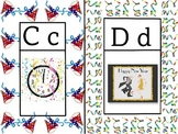New Year's Alphabet Wall Chart