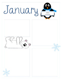 {Freebie!} January Newsletter Template