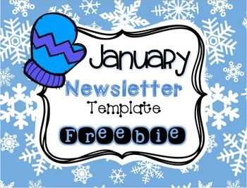 original-1622974-1 January Pre Newsletter Template Free on microsoft word, preschool classroom, christmas family,