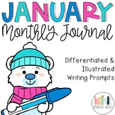 January No Prep Journal Prompts