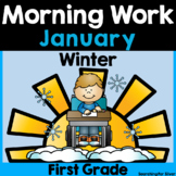 January Morning Work {First Grade}