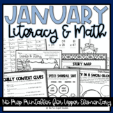 January No Prep Printable Pack