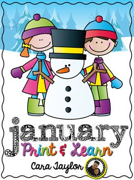 January No Prep Printables