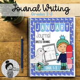 New Year Writing prompts 2nd Grade and 3rd Grade (January)