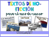 January Non-Fiction Texts in Spanish