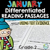 January Reading Passages ~ 2nd Grade Nonfiction Reading Passages