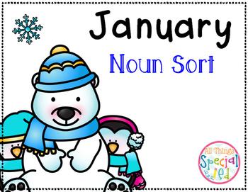 January Noun Sort