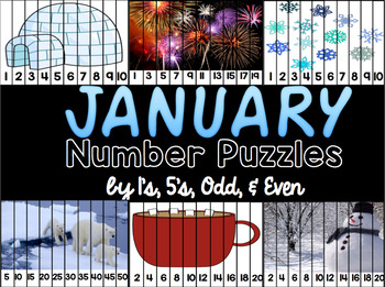 January Number Puzzles