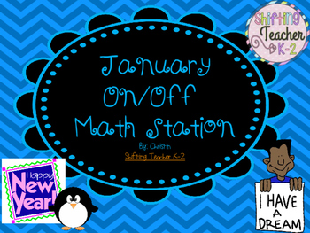 January On/Off Addition Game