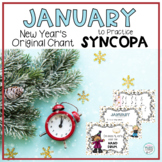 January - Original Chant to Practice Syncopa, with Orff Accompaniment