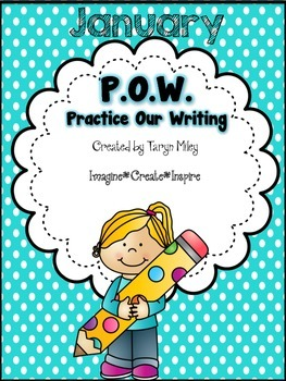 January POW (Practice Our Writing)
