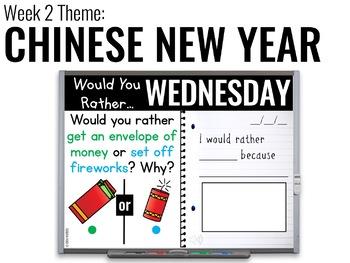 January Paperless 1st & 2nd Grade Morning Work {Whiteboard-based & EDITABLE}