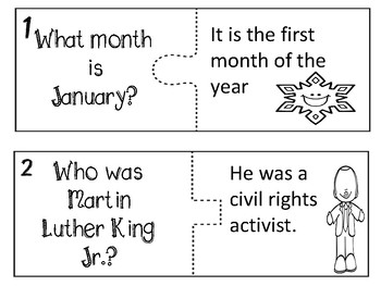 January Passage - Martin Luther King Jr. and New Year's