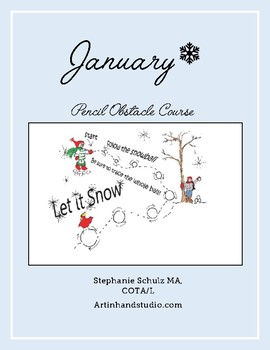 January Pencil Obstacle Course
