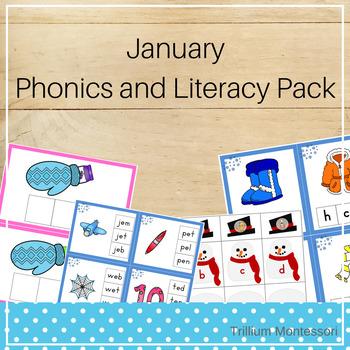 January Phonics and Literacy Pack