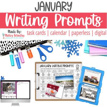 January Photo Writing Prompts