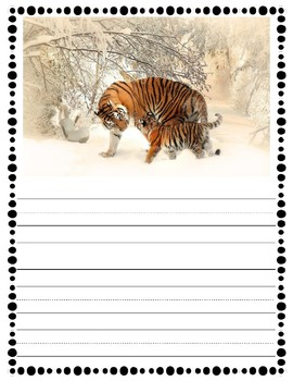 January Picture Writing Prompt Pack