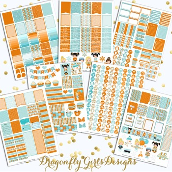 January Planner Stickers Kit