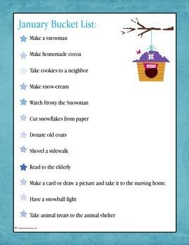 January Planning Pack for Children