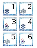 January Pocket Calendar Cards