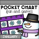 January Pocket Chart Activities
