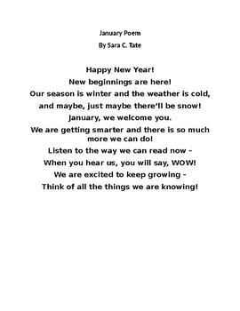 January Poem