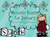 January Poem FREEBIE!