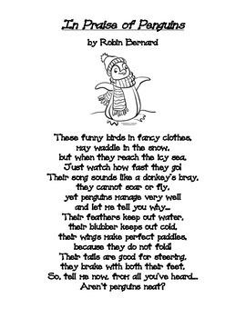 Winter Poem: In Praise of Penguins
