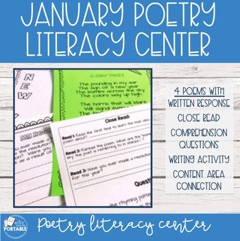 January Poetry Literacy Center