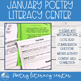 Winter Literacy Center - January Poems