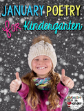 January Poetry Unit for Kindergarten