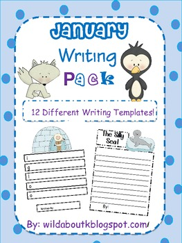January Poetry and Writing Pack