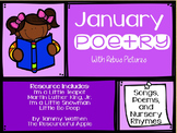January Poetry with Rebus Pictures