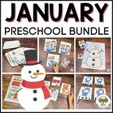 January Preschool Activities Bundle